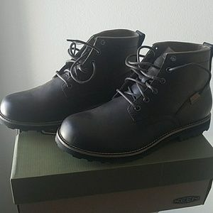 Keen the 59 brown leather boots size 12